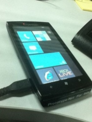 Sony Ericsson con Windows Phone 7 touch