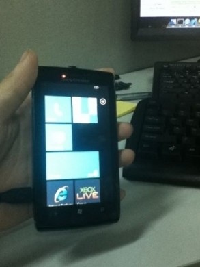 Sony Ericsson con Windows Phone 7 ui