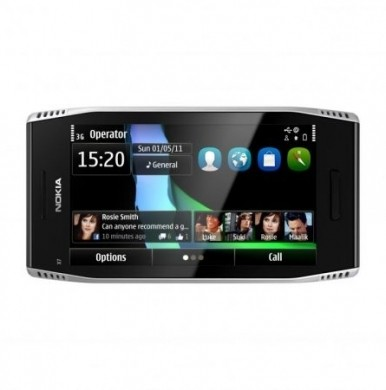 Nokia X7 touchscreen