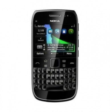 Nokia E6 Eseries black