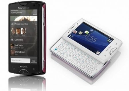 Sony Ericsson Xperia Mini Pro touch qwerty