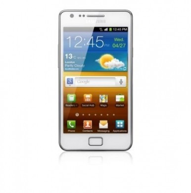 Samsung Galaxy S II Pure White