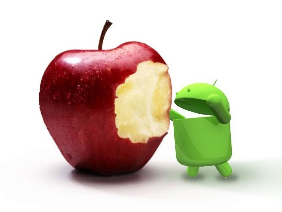 Apple vs Android ultimi dati