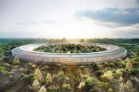 Apple Campus design