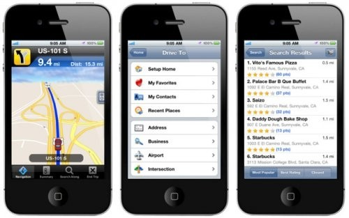 Navigatori GPS Offline iPhone