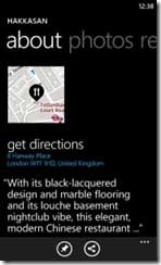 Nokia Maps per Windows Phone about