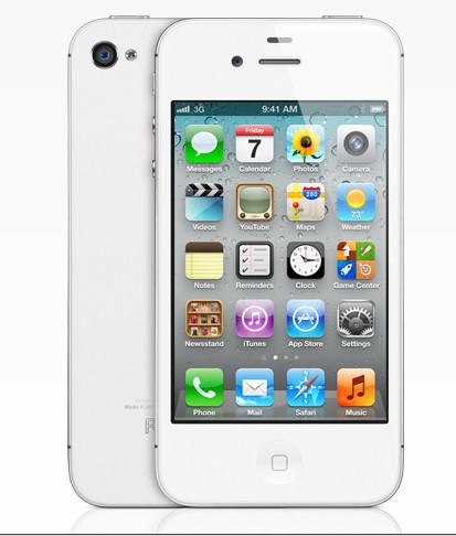 iPhone 4s bianco