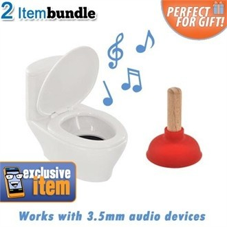 Toilet Speaker