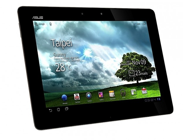 Asus Eee Pad Transformer Prime fronte