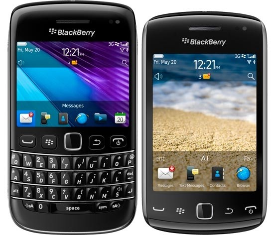 Blackberry Curve 9790 e Blackberry Bold 9380