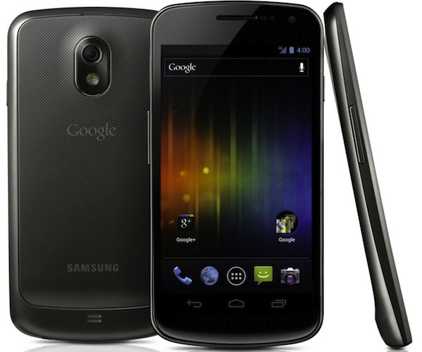 Samsung Galaxy Nexus smartphone