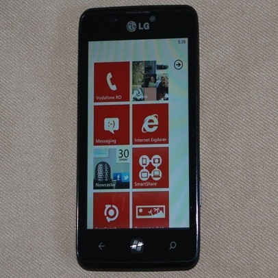 LG Fantasy con Windows Phone Mango appare