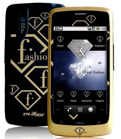 ZTE FTV Phone nero