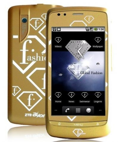 ZTE FTV Phone oro