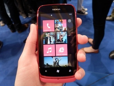 Nokia Lumia 610 touch