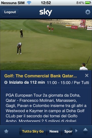 Sky Go Golf