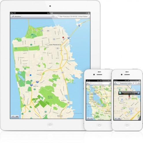 iOS 6 Mappe