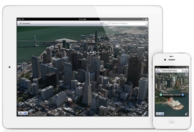 iOS 6 Mappe Flyover