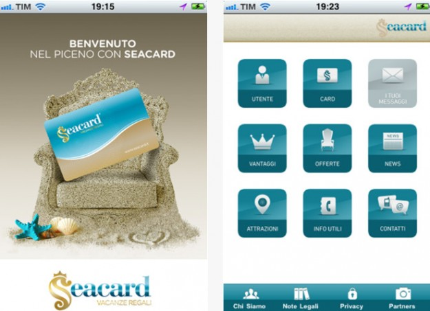 Seacard iPhone Android