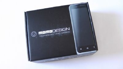 ZTE Momodesign MD Droid scatola
