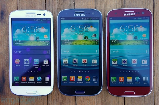 Samsung Galaxy S3 colori