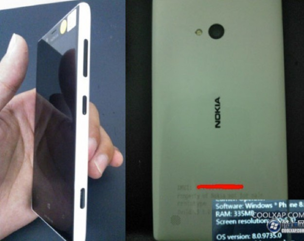 Nokia Lumia Arrow: Windows Phone 8 e dual core [FOTO]