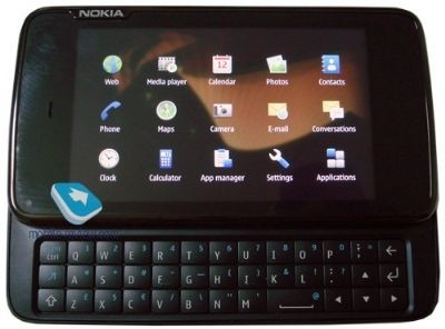 Nokia N900 touch