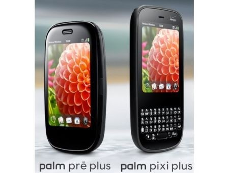 Palm Pre Plus e Pixi Plus CES