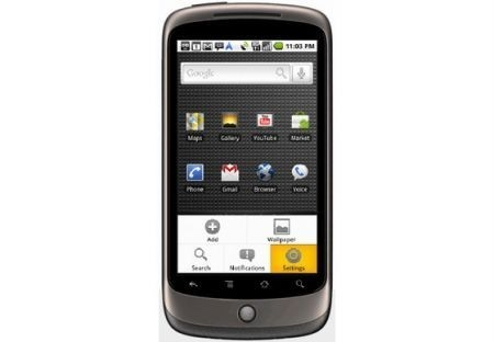 Nexus One Google fronte