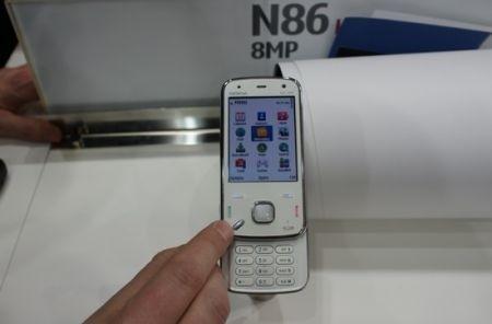Nokia N86 bianco