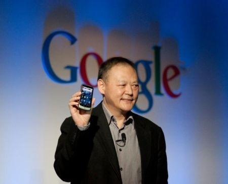 Peter Chou con Nexus One