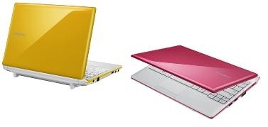 Samsung Corby N150 rosa giallo