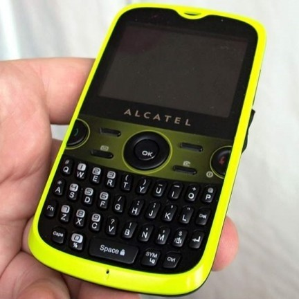 Alcatel OT-800 qwerty