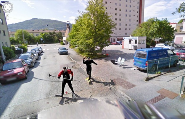 Google Maps foto divertenti