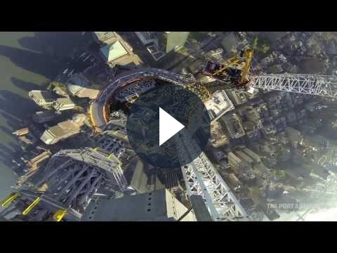 GoPro filma il completamento dell'One World Trade Center [VIDEO]