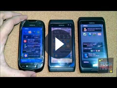Nokia E7 vs N8 vs C7: video-confronto tra smartphone