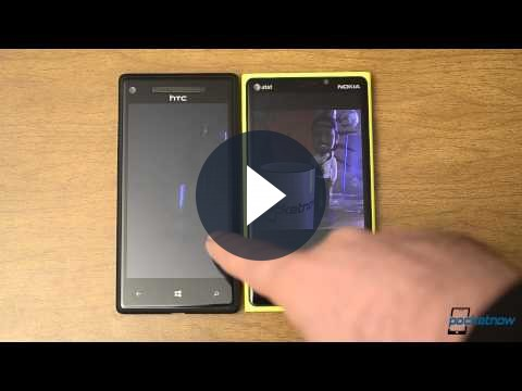 Nokia Lumia 920 vs HTC 8X confronto tra WP8 [VIDEO]