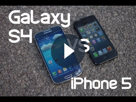 Samsung Galaxy S4 vs iPhone 5: il crash test [FOTO e VIDEO]