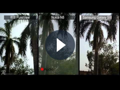 Nokia 808 Pure View vs Samsung Galaxy S3: confronto sul videoreocording [VIDEO]