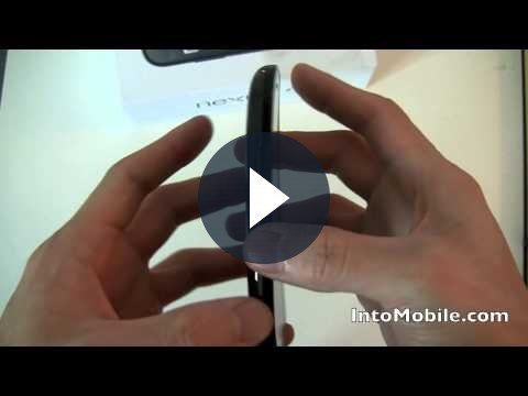 Google Nexus S recensione video