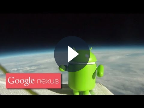 Android nello Spazio: i video dell'esperimento di Google