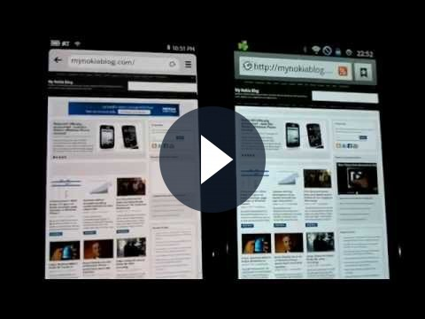 Samsung Galaxy S II vs Nokia N9: la battaglia sul web