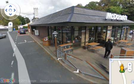 Google Street View Mc Donalds